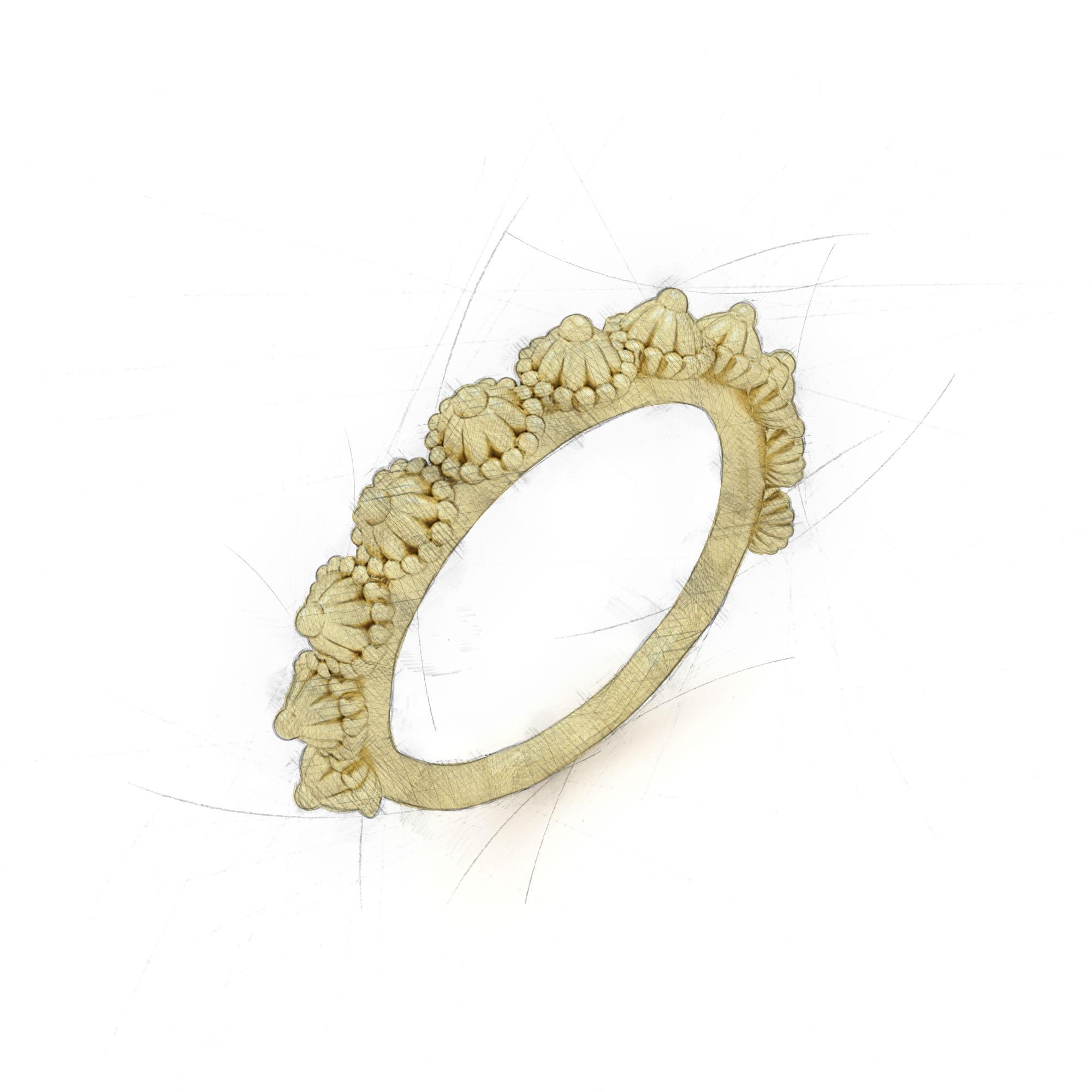 Zipfelmützen Ring von Filiotti